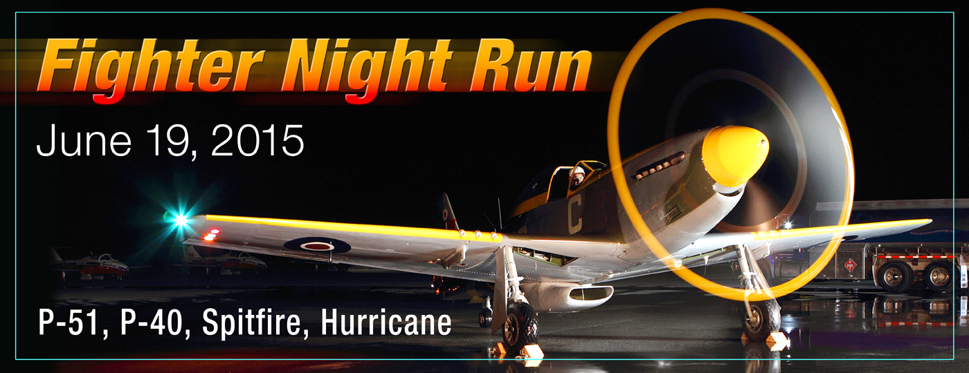 Poster for Fighter Night Run event