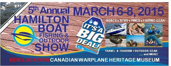 Poster for - Hamilton Boat Fishing & Outdoor Show