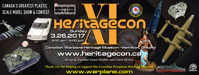 Poster for HeritageCon 11 event