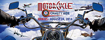 Poster for Motorcycle Charity Ride event