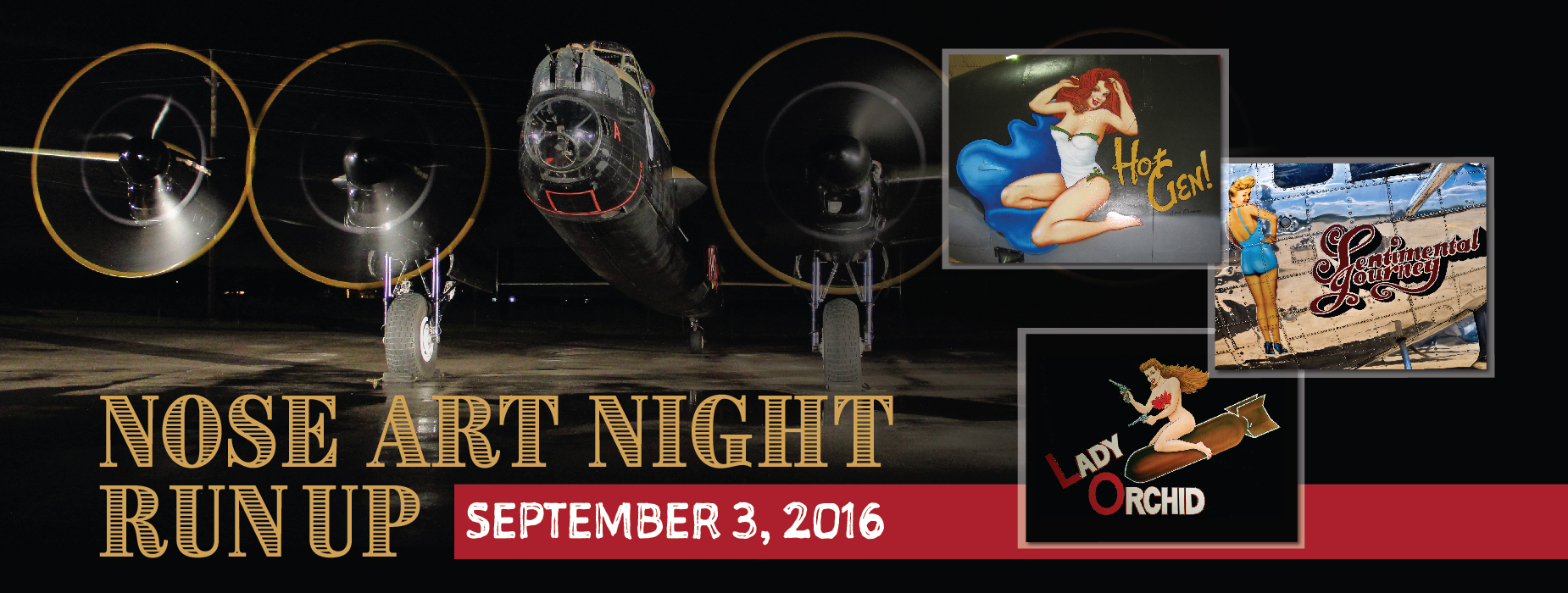 Poster for - Nose Art Night Run Up