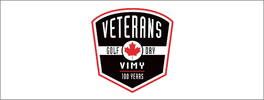 Poster for Annual Veterans Golf Day event