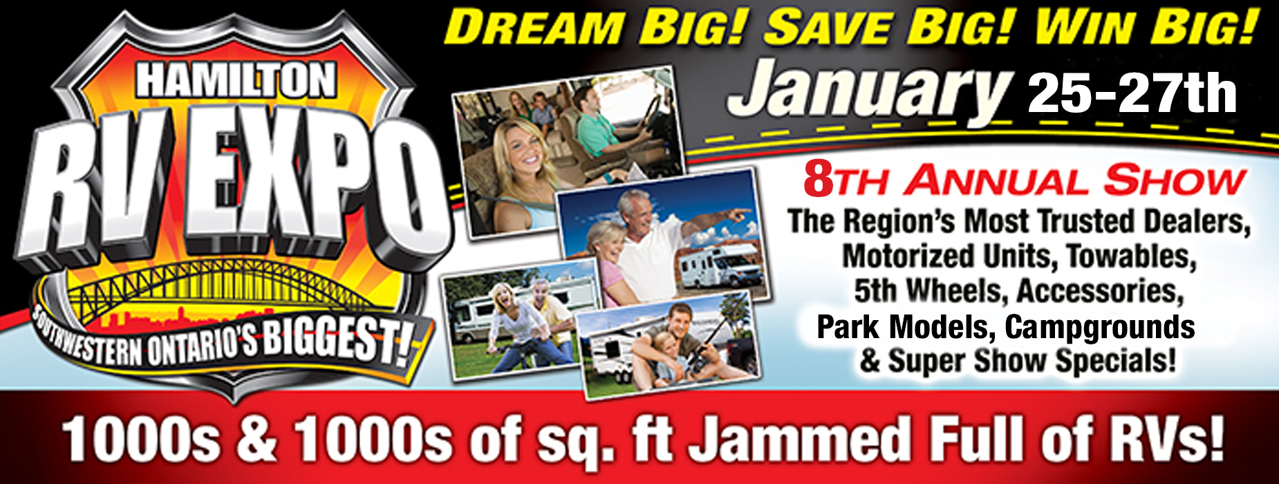 Poster for - Hamilton RV Expo