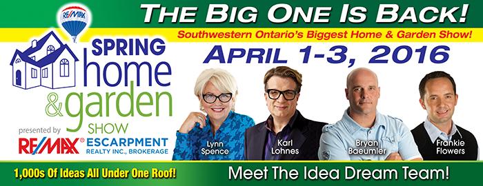 Poster for Spring Home & Garden Show event