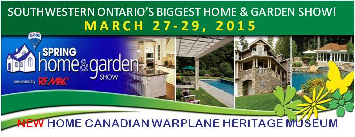 Poster for Spring Home & Garden Show event