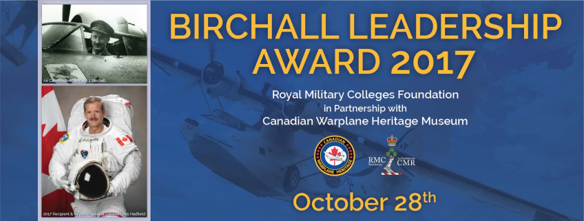 Poster for Birchall Leadership Award 2017 event