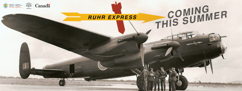 Poster for Ruhr Express Lancaster event