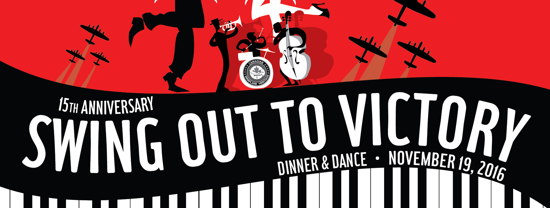 Poster for - Swing Out to Victory Dinner & Dance
