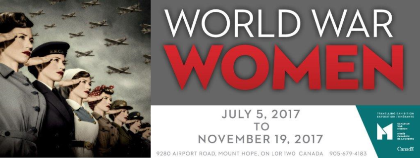 Poster for World War Women event