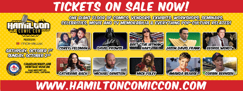 Poster for Hamilton Comic Con event