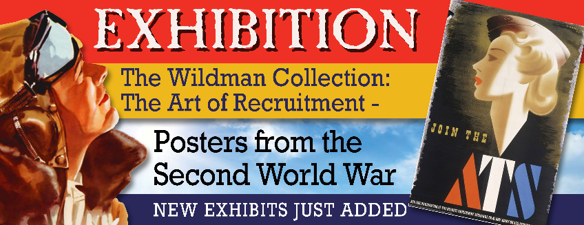 Poster for Exhibition - The Wildman Collection: The Art of Recruitment event