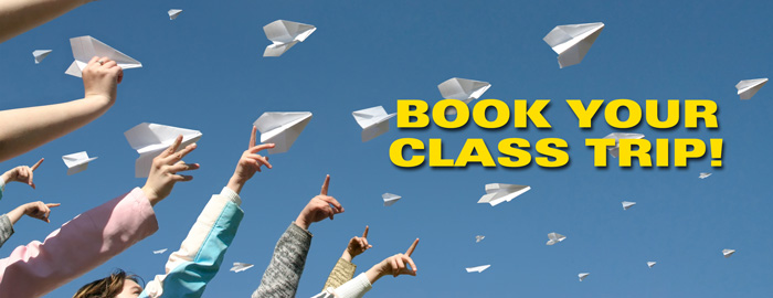 Poster for - Book your Class Trip