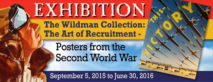 Poster for - Exhibition - The Wildman Collection: The Art of Recruitment