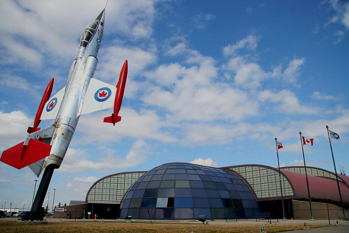 Canadian Warplane Heritage Museum Main Entrance photo