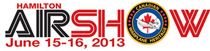 2013 Hamilton Airshow logo