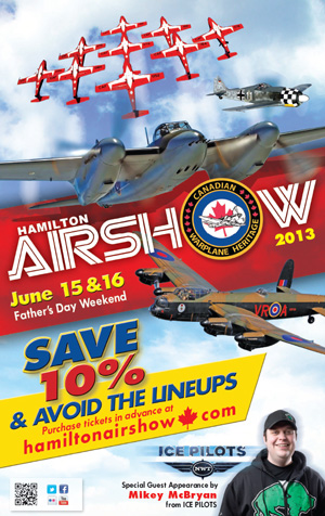 Photo of Hamilton Airshow poster