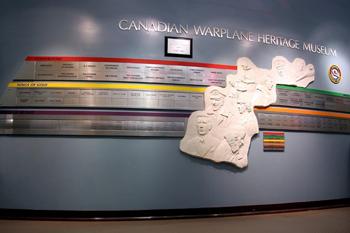 Photo of Canadian Warplane Heritage Donor Wall