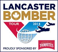Lancaster Bomber Tour logo