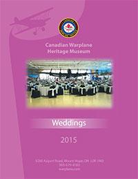 Canadian Warplane Heritage Museum, Weddings Menu 2015