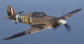 Photo of Hawker Hurricane (replica)