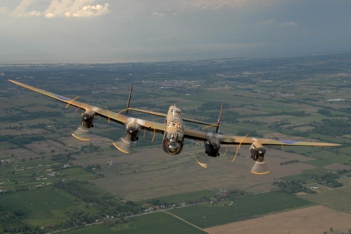 Lancaster KB726. Photo: Eric Dumigan