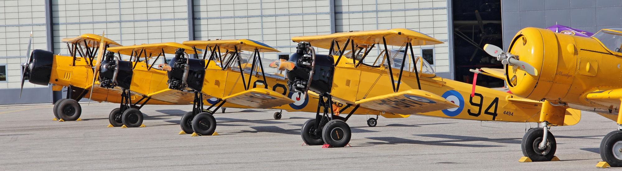 Aircraft at Canadian Warplane Heritage Museum