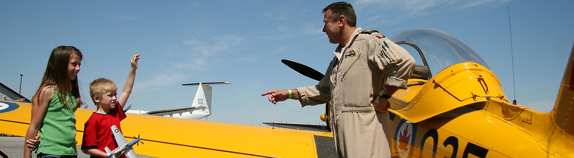 KidZone Canadian Warplane Heritage Museum