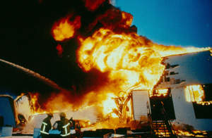 The hangar fire in 1993 destroyed 5 aircraft