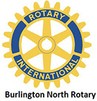 Burlington North Rotary logo