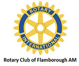 Flamborough AM Rotary logo
