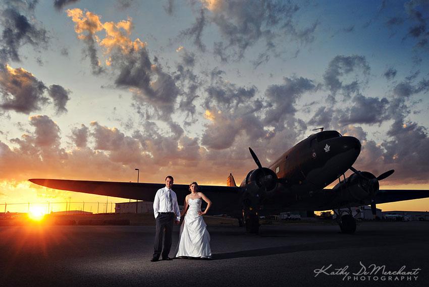 Weddings at Canadian Warplane Heritage Museum