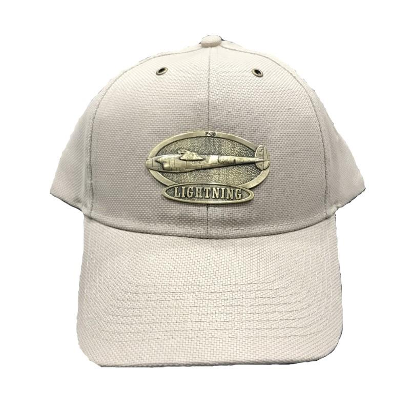 Product Photo of 11410 - P-35 Lightning Brass Logo Hat