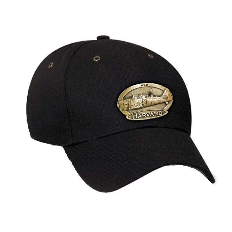 Product Photo of 11425 - Harvard Brass Logo Hat
