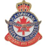 Photo of 11440 - Canadian Warplane Heritage Crest Lapel Pin