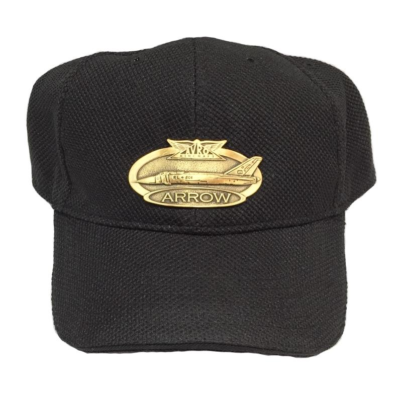 Product Photo of 12199 - Avro Arrow Brass Logo Hat