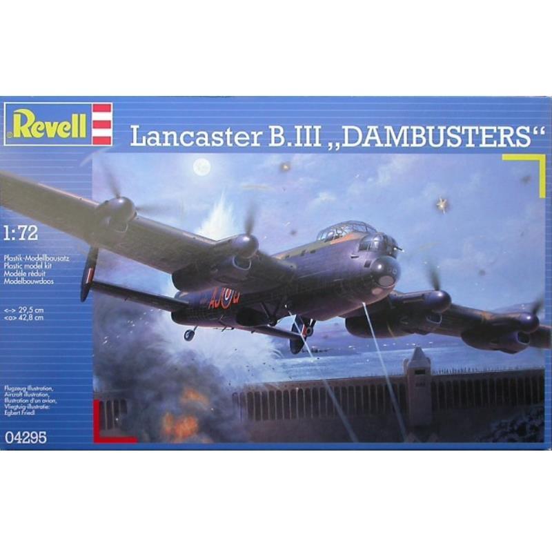 "Product Photo of 15893 - Lancaster B.III ""Dambusters"" Plastic Model"