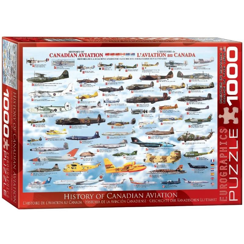 Product Photo of 16422 - History of Canadian Aviation Puzzle