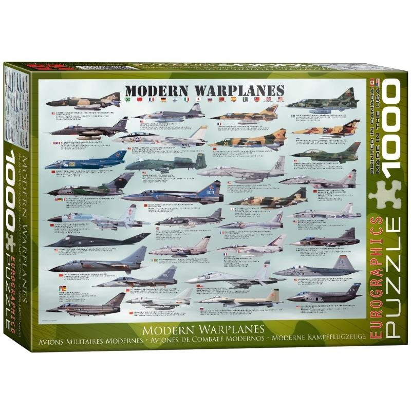 Product Photo of 16423 - Modern Warplanes Puzzle