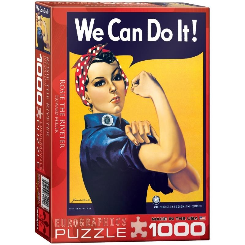 Product Photo of 16841 - Rosie the Riveter Puzzle