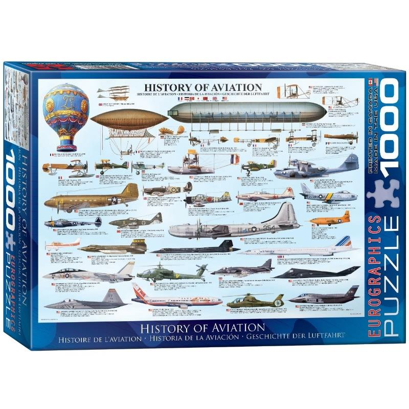 Product Photo of 16842 - History of Aviation Puzzle