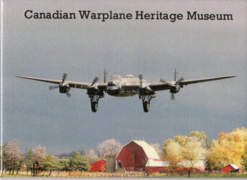 Product Photo of 17613 - Mynarski Lancaster Over the Farm Magnet