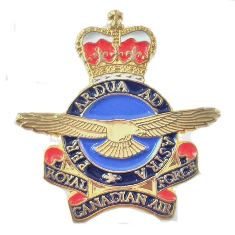 Product Photo of 18687 - RCAF Heraldic Crest Lapel Pin