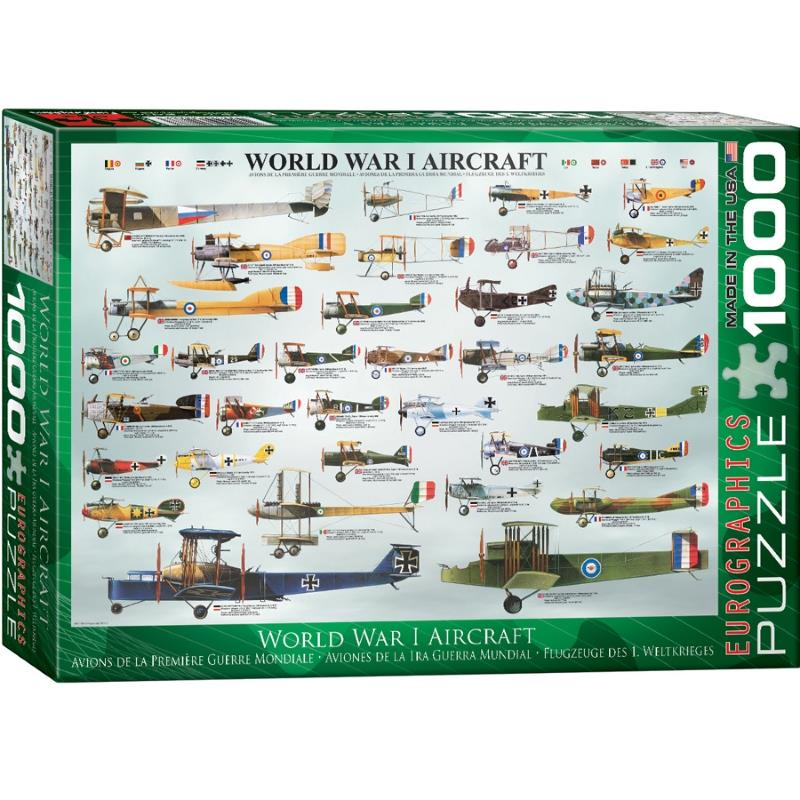 Product Photo of 19303 - World War I Aircraft Puzzle