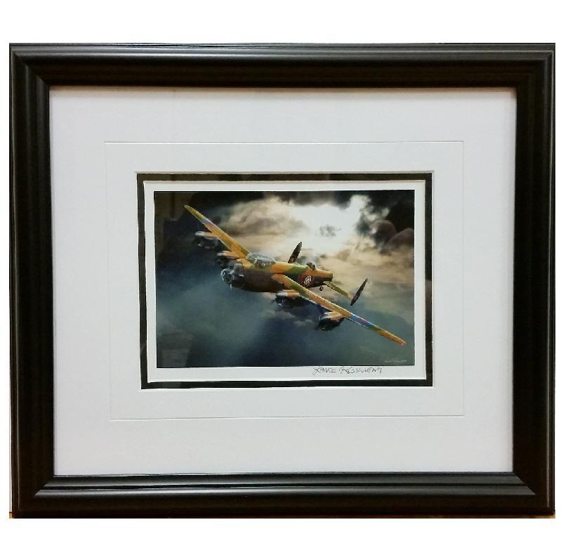 Product Photo of 19320 - Avro Lancaster VRA Framed Print