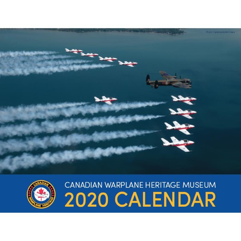 Product Photo of 29306 - 2020 Canadian Warplane Heritage Museum Calendar