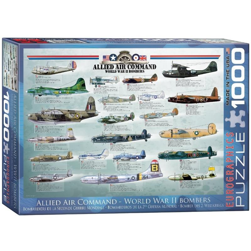 Product Photo of 20233 - Allied Air Command - WWII Bombers Puzzle