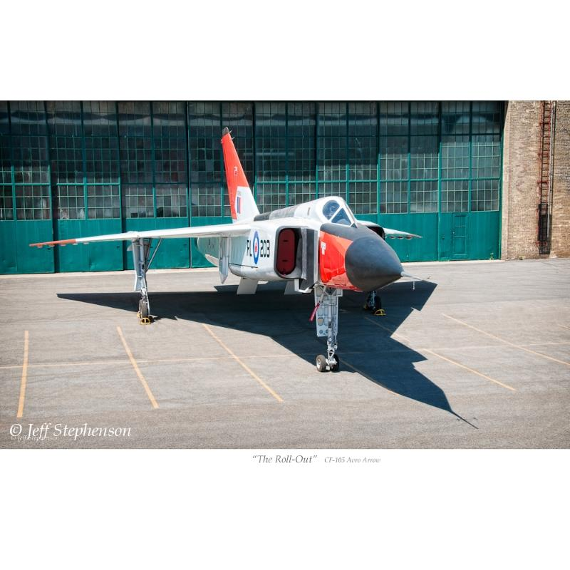 Product Photo of 20648 - Avro Arrow 'The Roll Out' Print