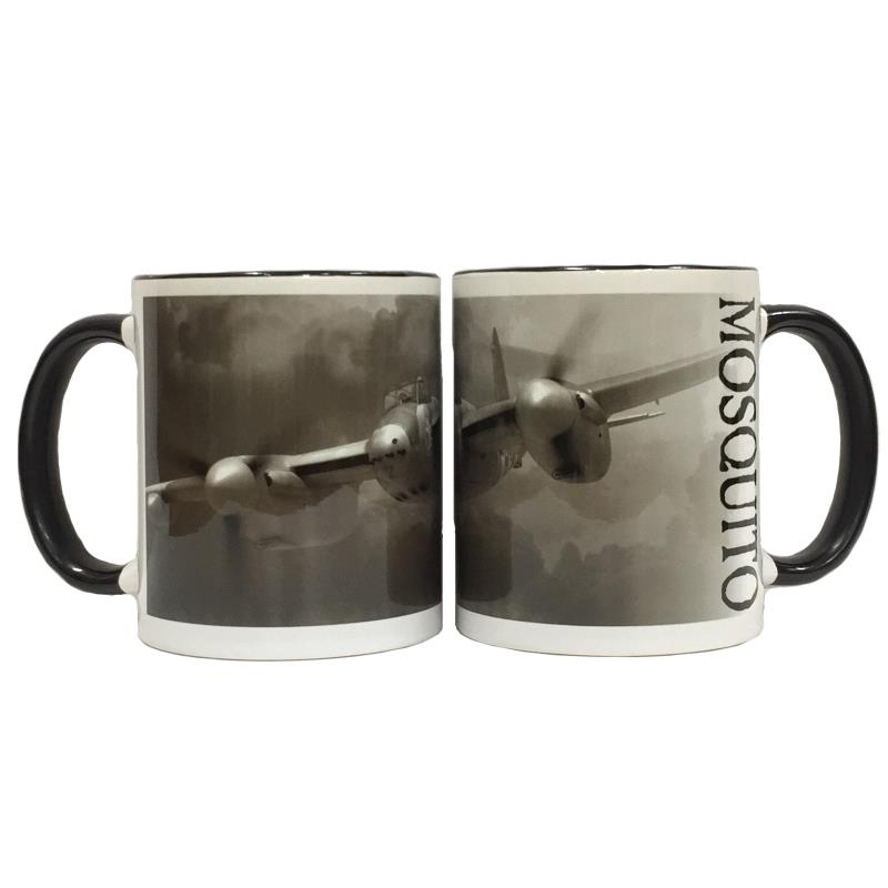Product Photo of 23437 - Mosquito Black and White Mug