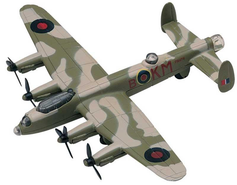 Product Photo of 24641 - Avro Lancaster (B-KM) Sky Wings Diecast Model Toy