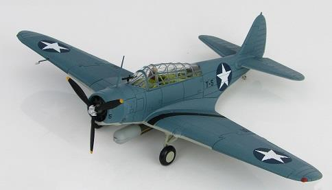 Product Photo of 24962 - TBD-1 Devastator,  USS Hornet, Battle of Midway, Diecast Model